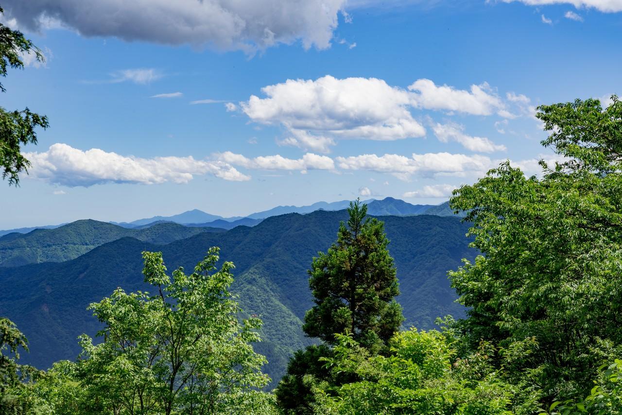 武川岳山頂からの展望