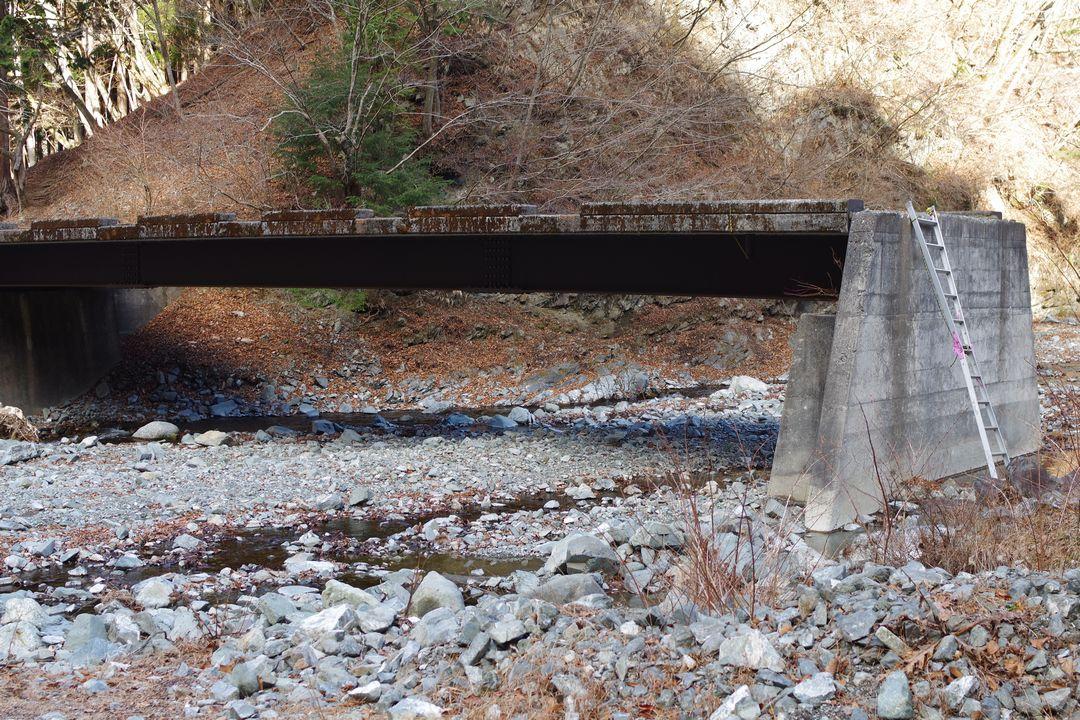 熊木沢出合の橋