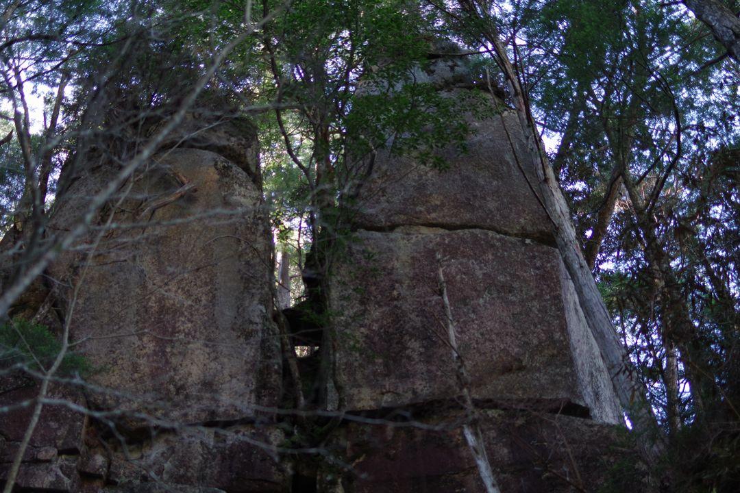 瑞牆山 夫婦岩
