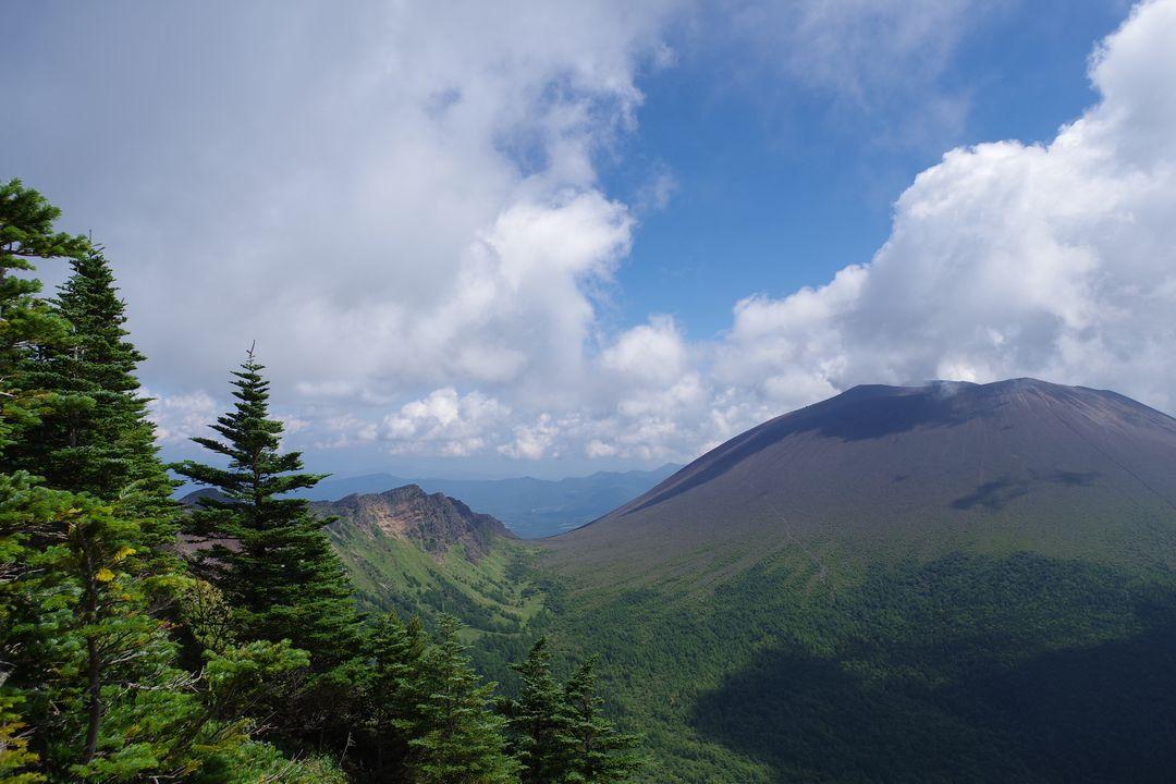 黒斑山の登山道