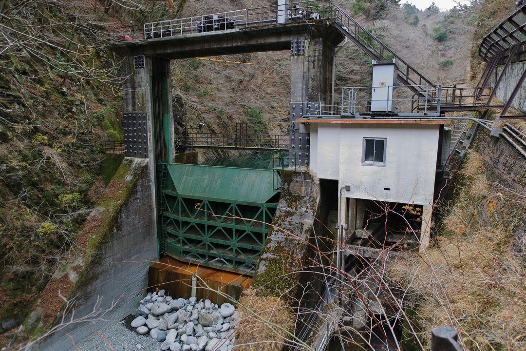 玄倉ダムの