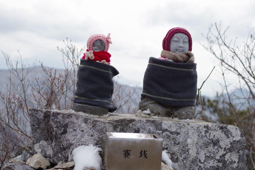 釈迦ヶ岳の夫婦地蔵
