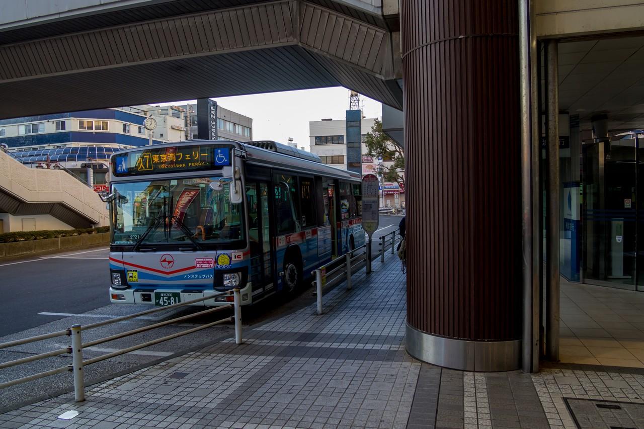 京急久里浜駅のバス乗り場