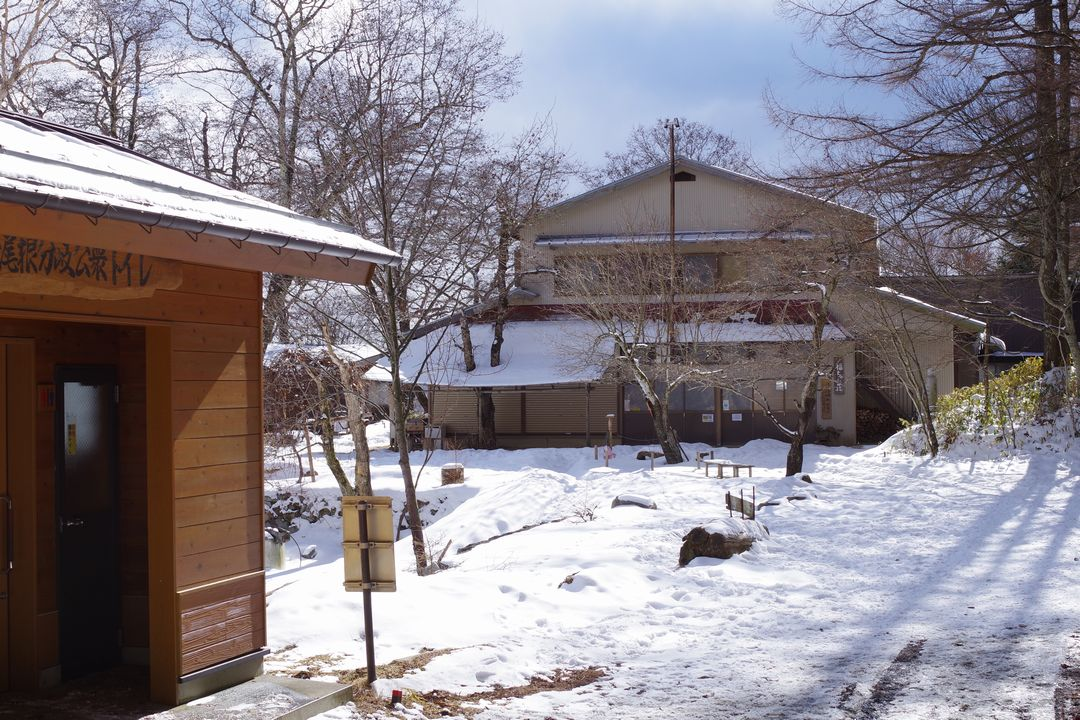 大菩薩嶺 冬の福ちゃん荘