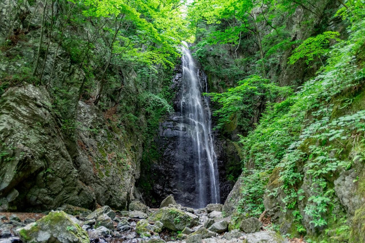 百尋の滝の全景