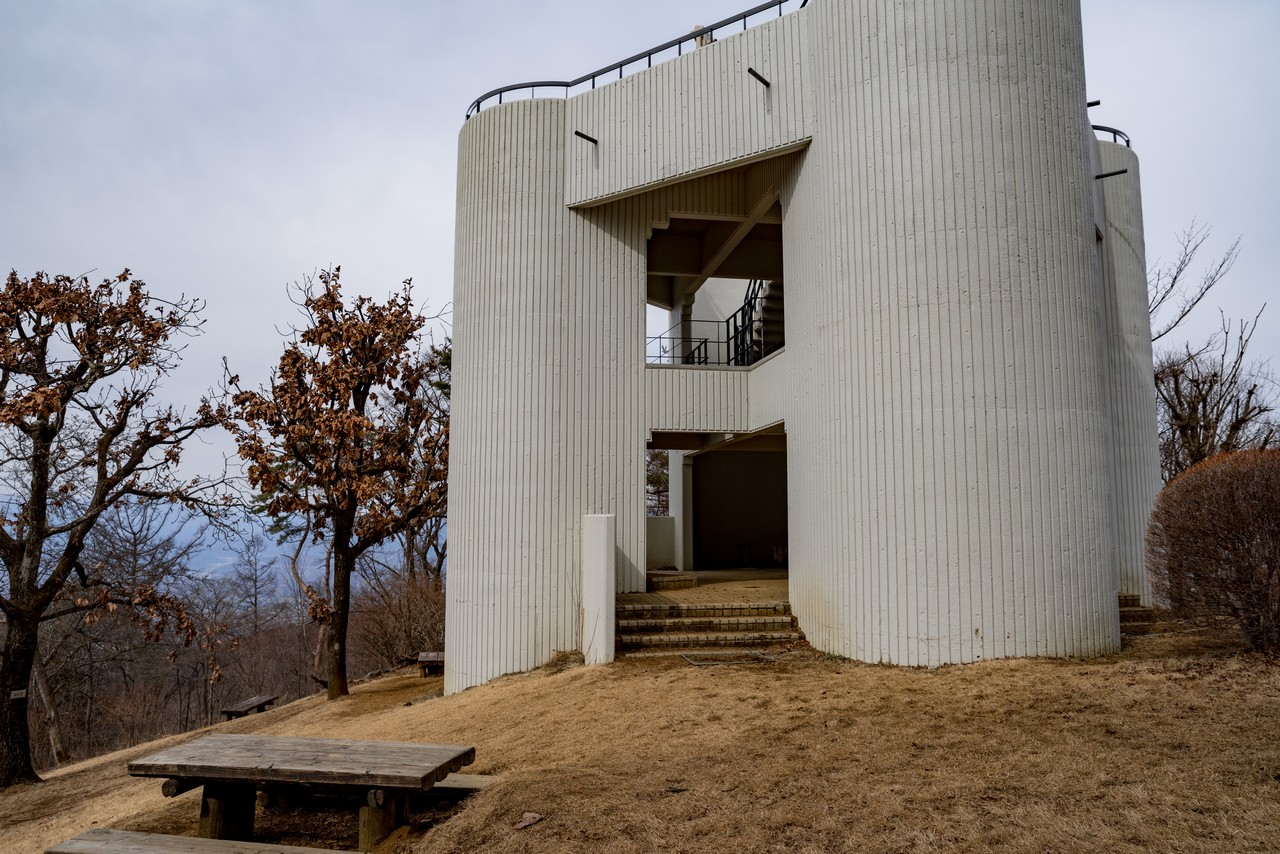 丸山山頂の展望台