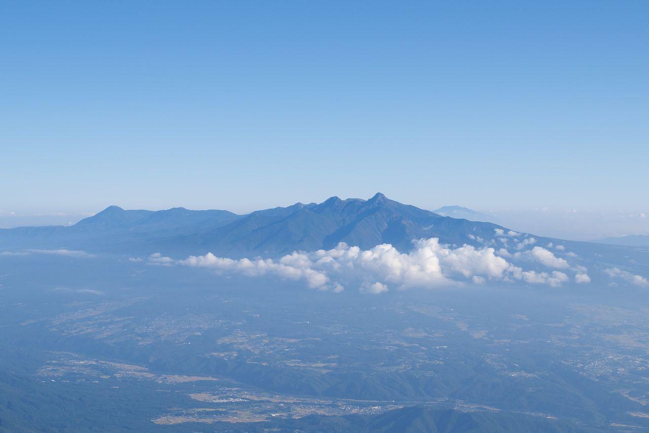 鳳凰山 薬師岳山頂から見た八ヶ岳