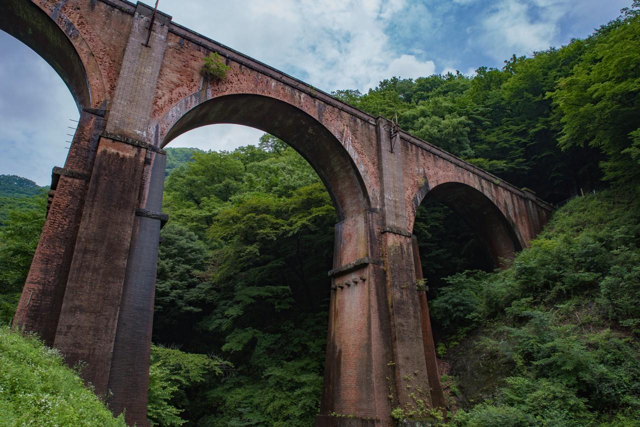 アプトの道 めがね橋