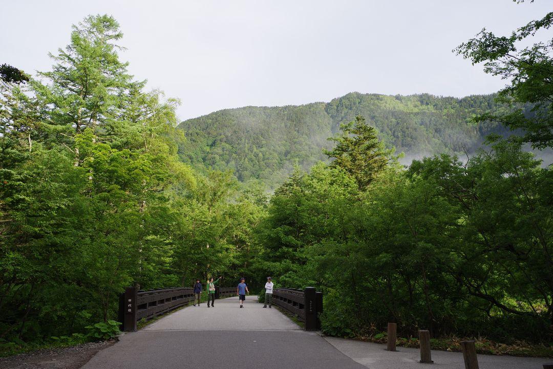 上高地 田代橋