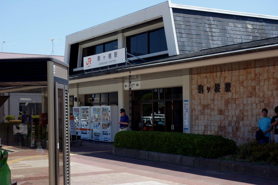駒ヶ根駅の駅舎
