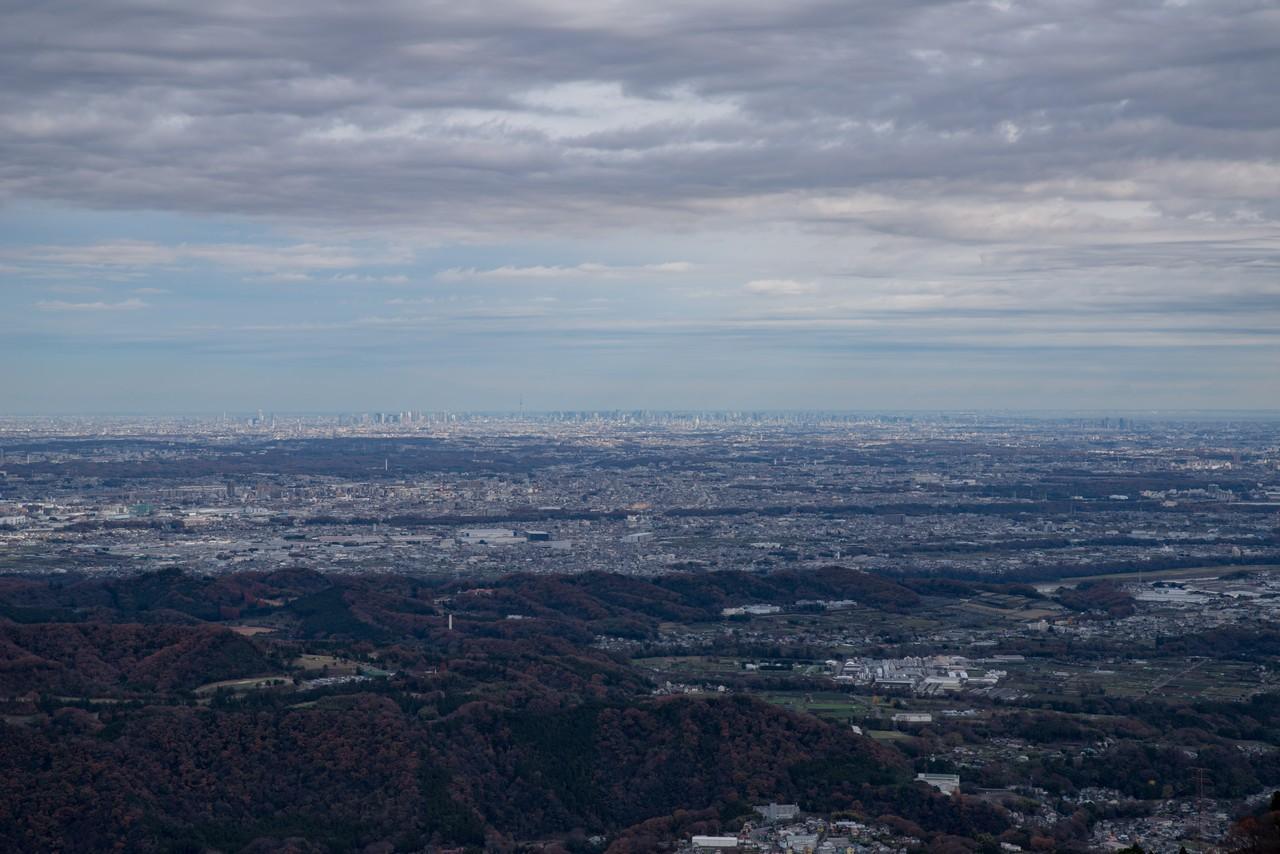高取山展望台からの眺望