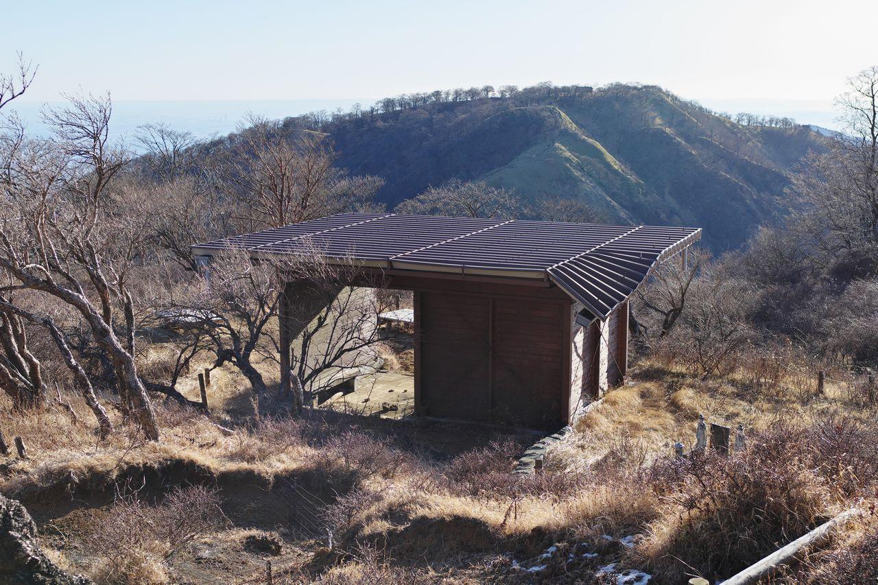 不動ノ峰の東屋