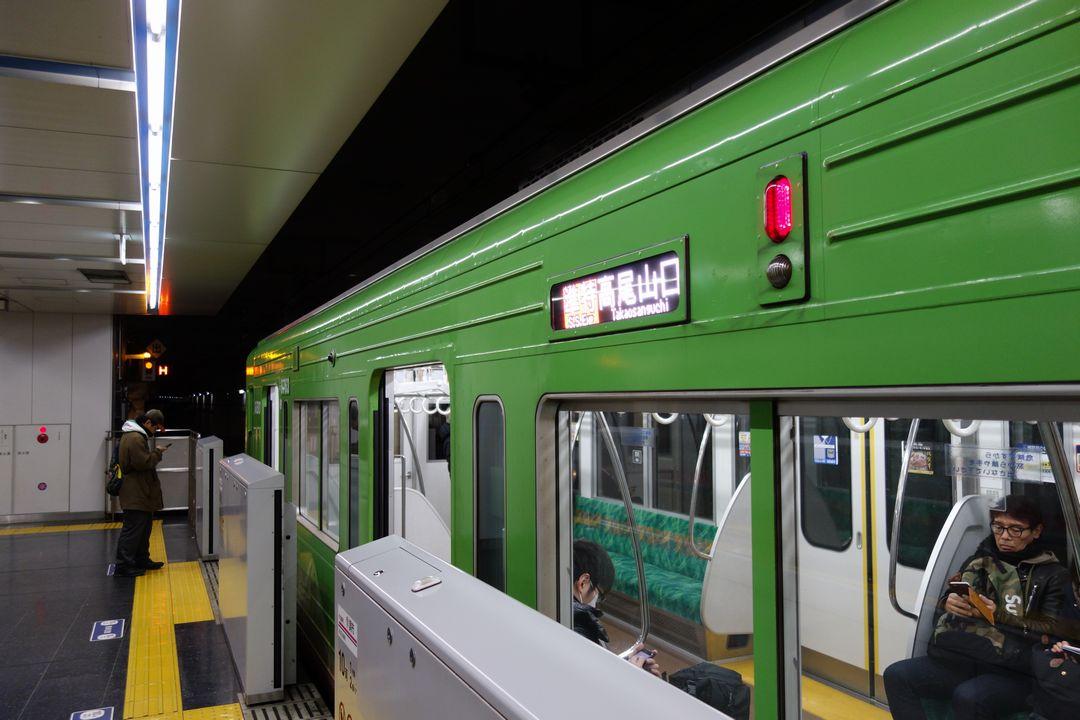 京王線 調布駅のホーム