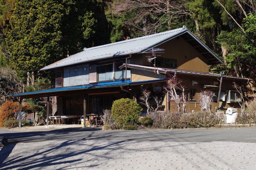 奥武蔵グリーンラインの蕎麦屋