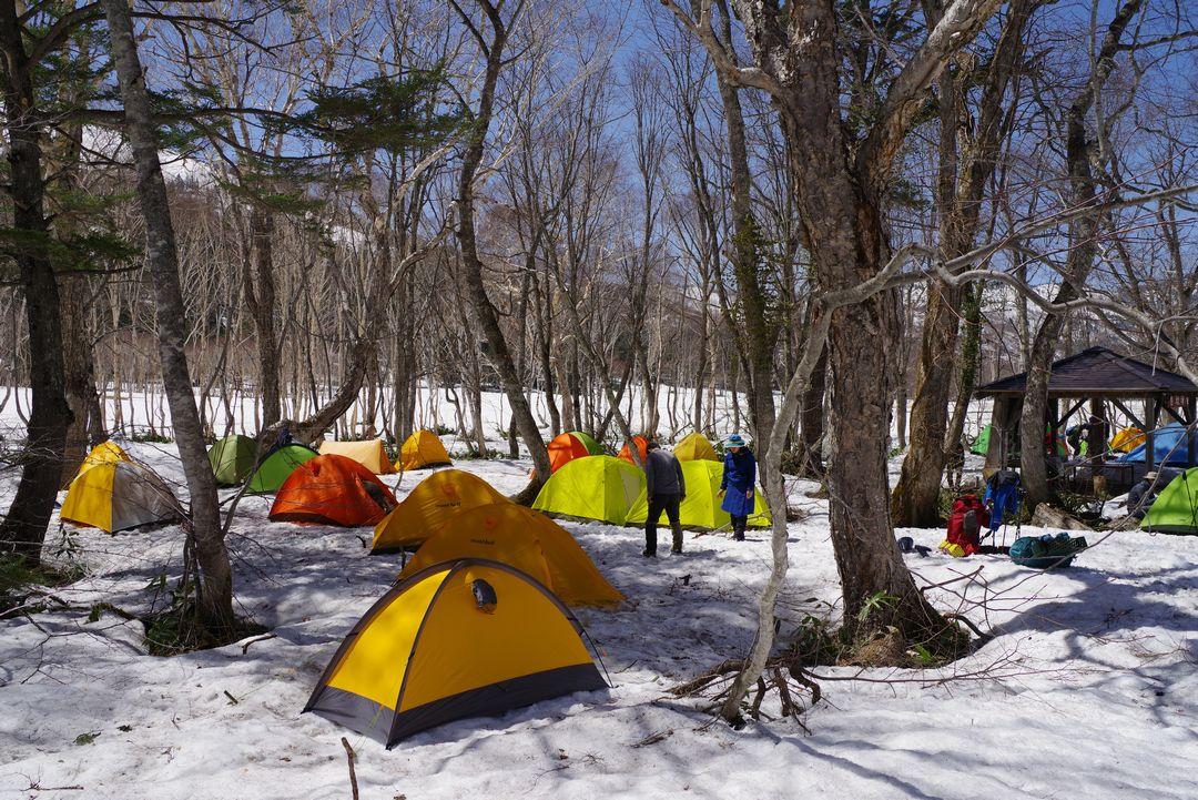 尾瀬 山の鼻キャンプ場