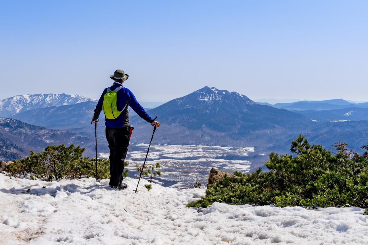 至仏山から見た燧ヶ岳