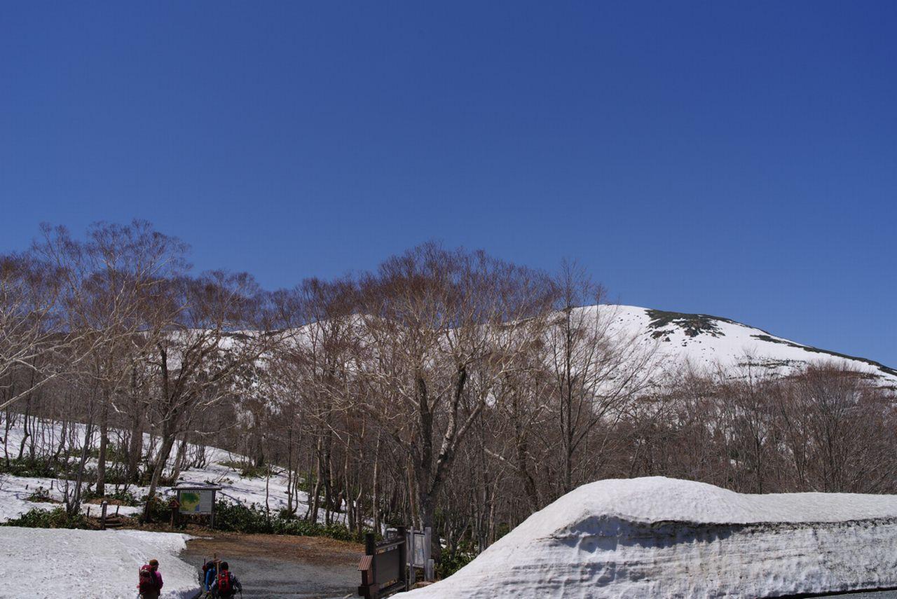 鳩待峠から見た至仏山