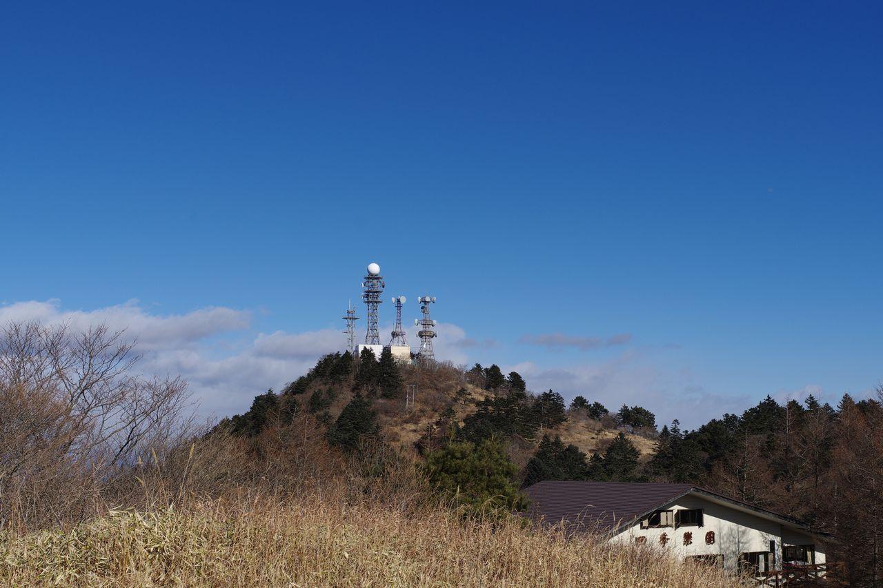 三ッ峠山 御巣鷹山の山頂部