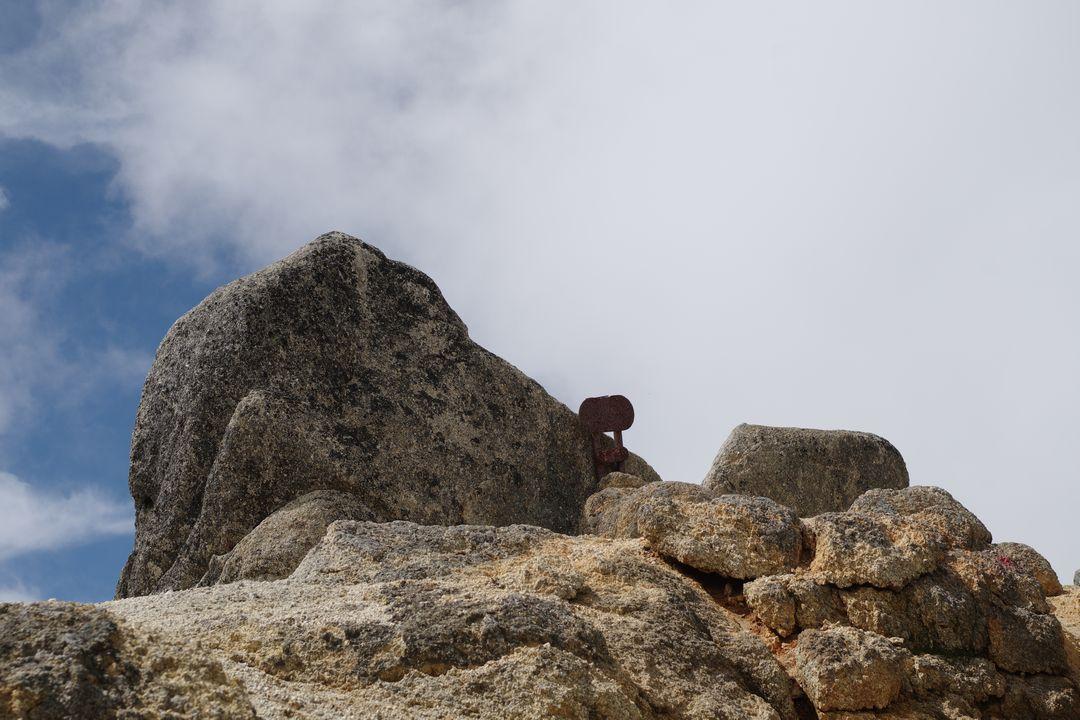 鳳凰三山 砂払岳