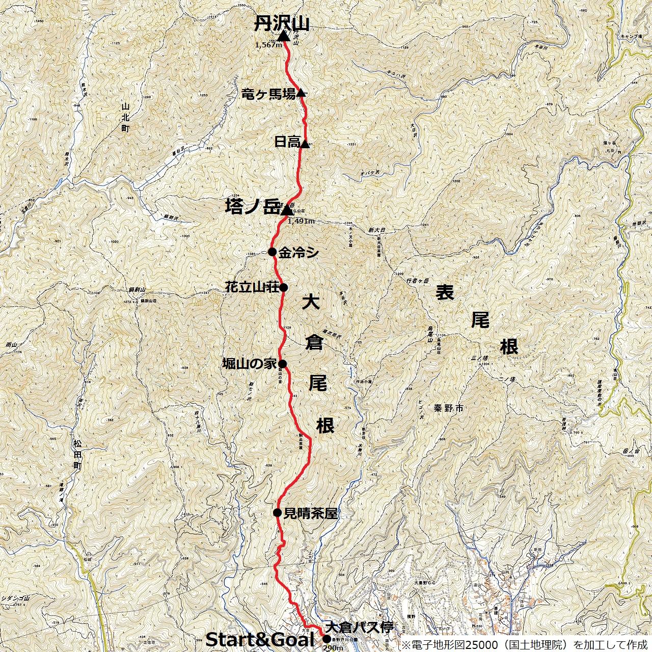 180212丹沢山_map