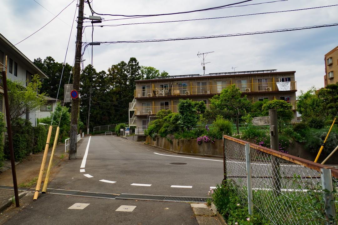 多摩よこやま道の市街地部分