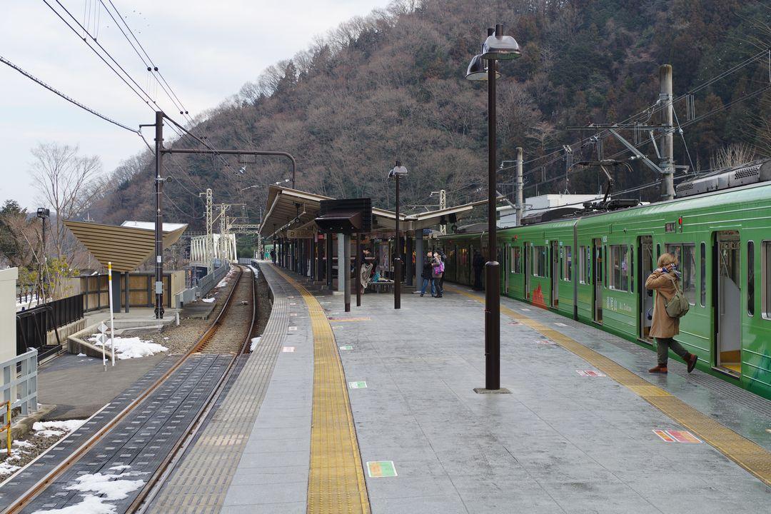 京王線 高尾山口駅