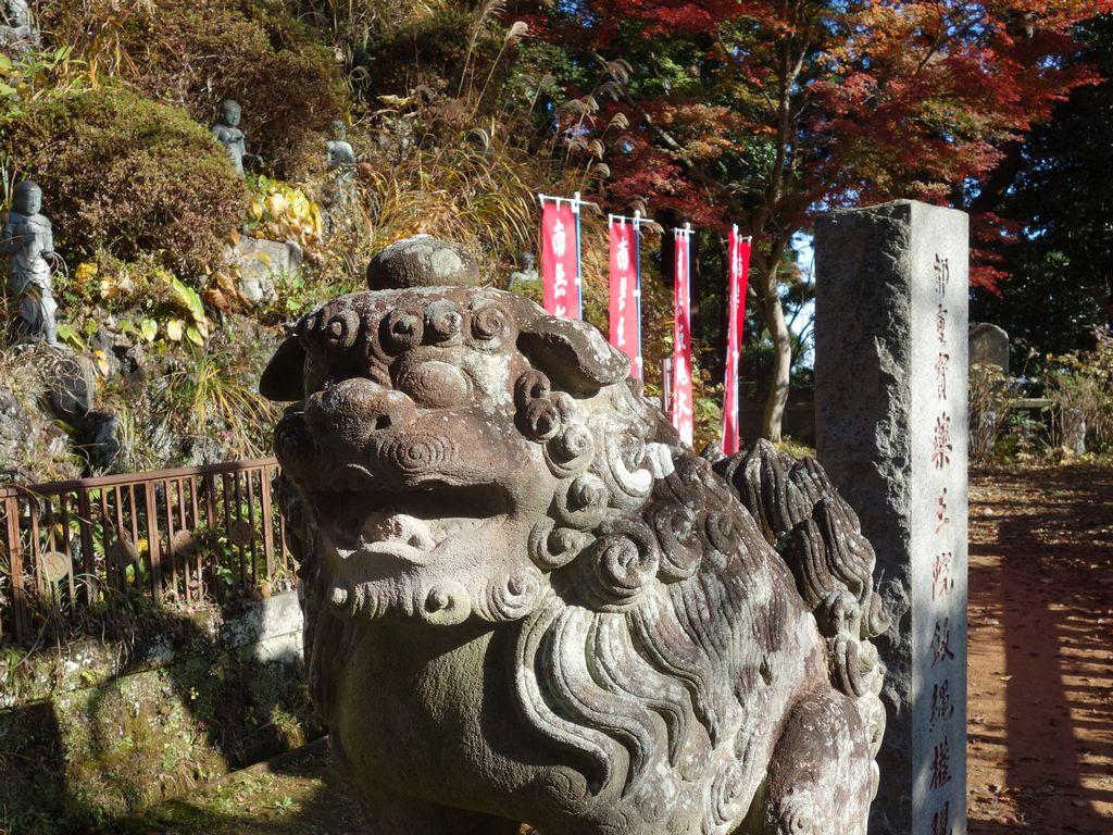 高尾山 薬王院の狛犬