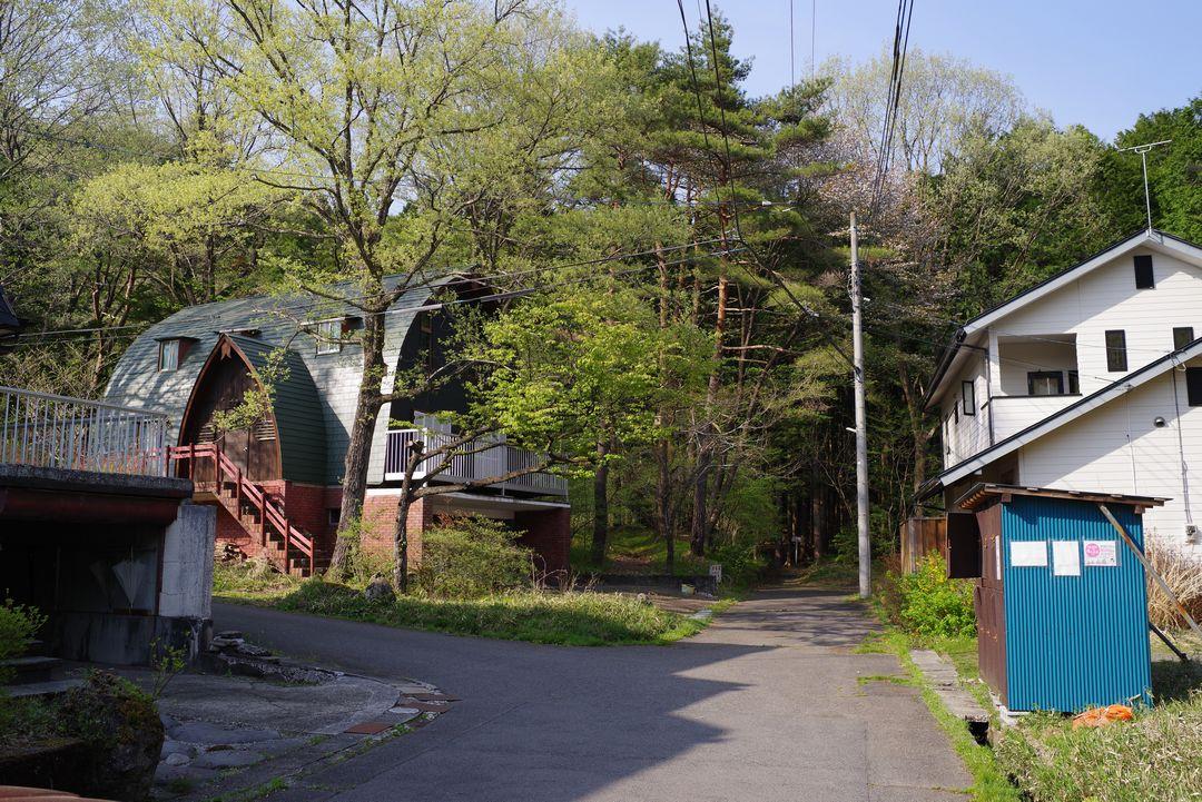 日光 外山の別荘地