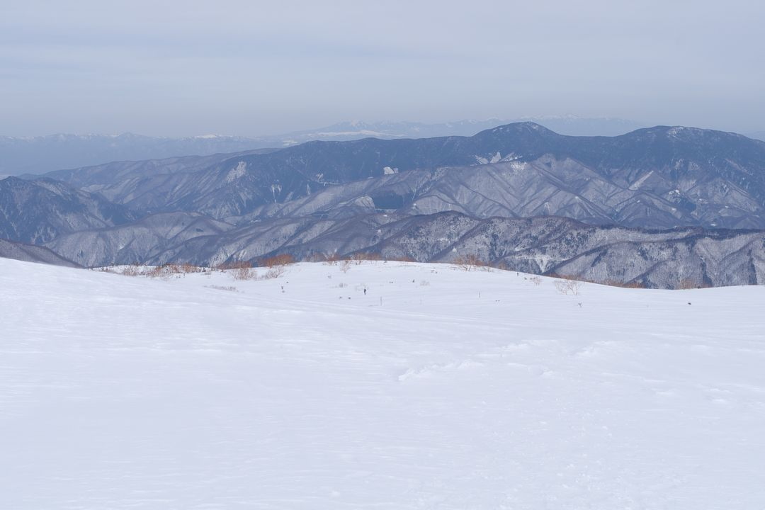 乗鞍岳 位ヶ原の雪原
