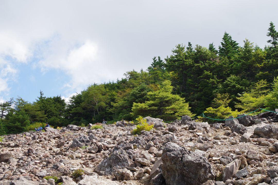 黒斑山の表コース