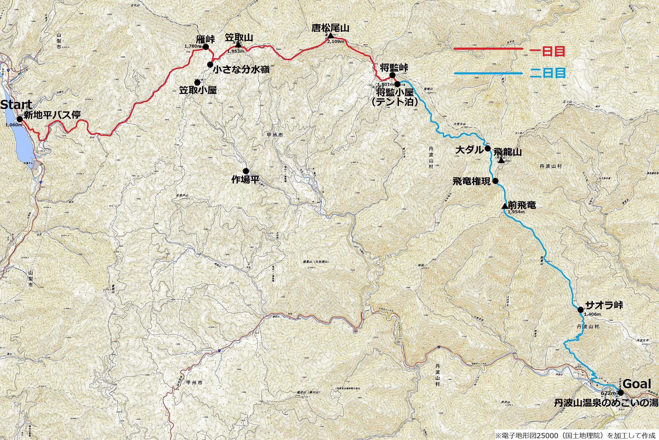 190428笠取山_map