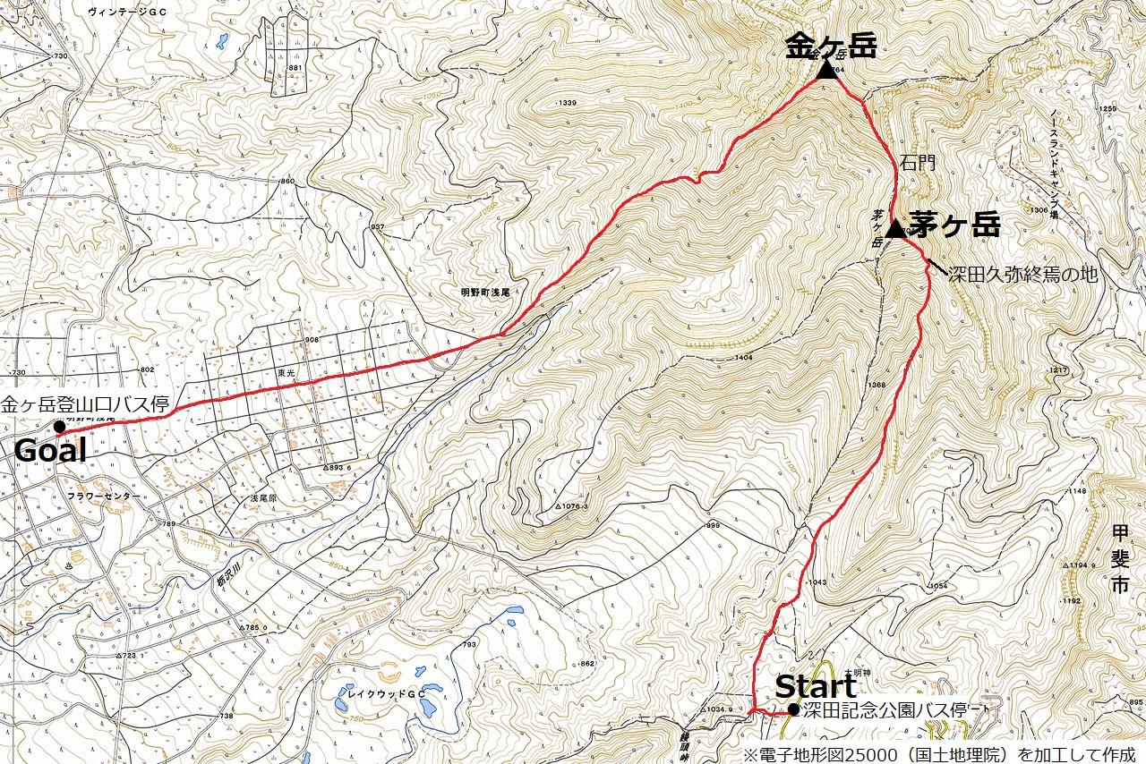 191104茅ヶ岳_map
