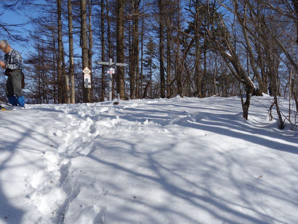 今倉山の山頂
