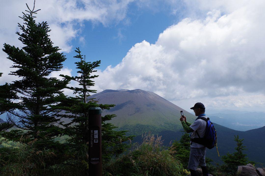 黒斑山の山頂