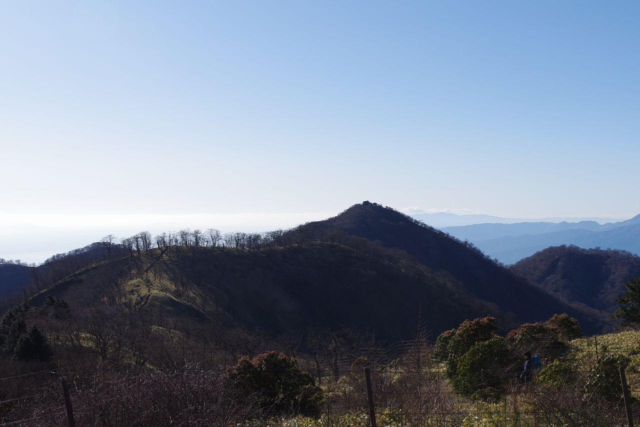 竜ヶ馬場から見た塔ノ岳