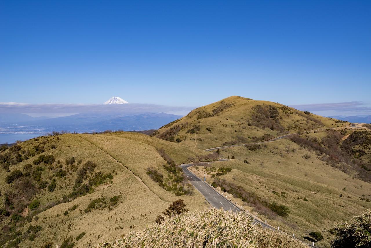 古稀山から見た達磨山
