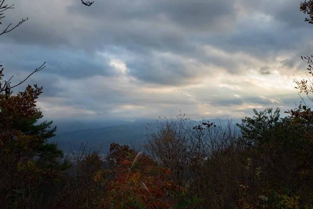 熊倉山山頂からの展望