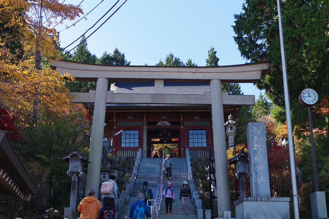 御岳山神社の石段