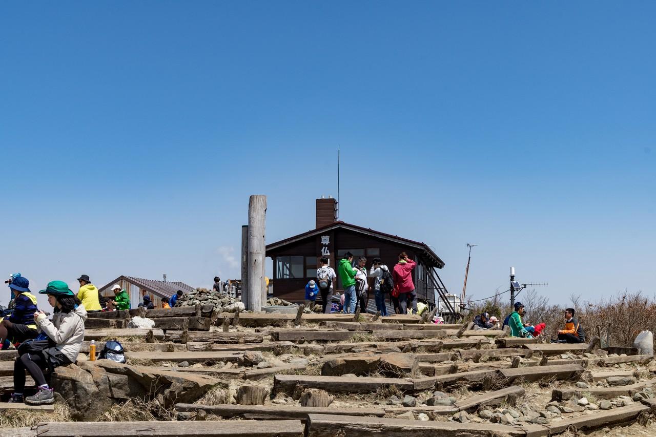 塔ノ岳の山頂