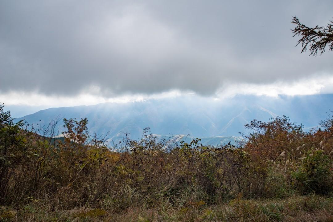 数馬峠からの光景
