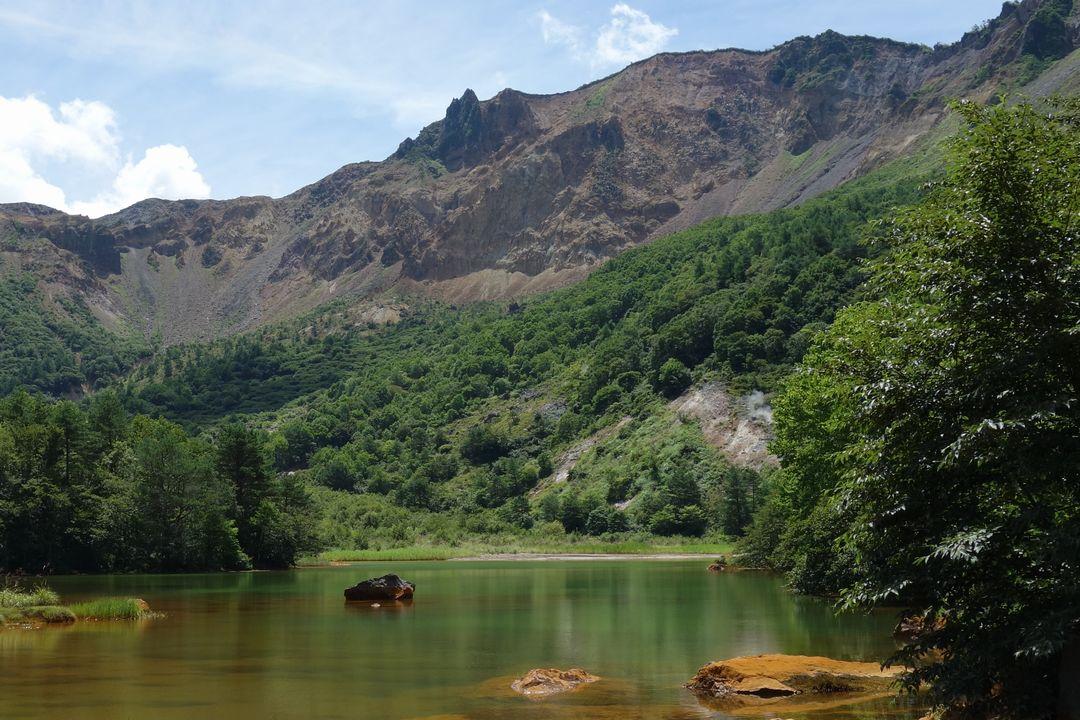 磐梯山 赤沼
