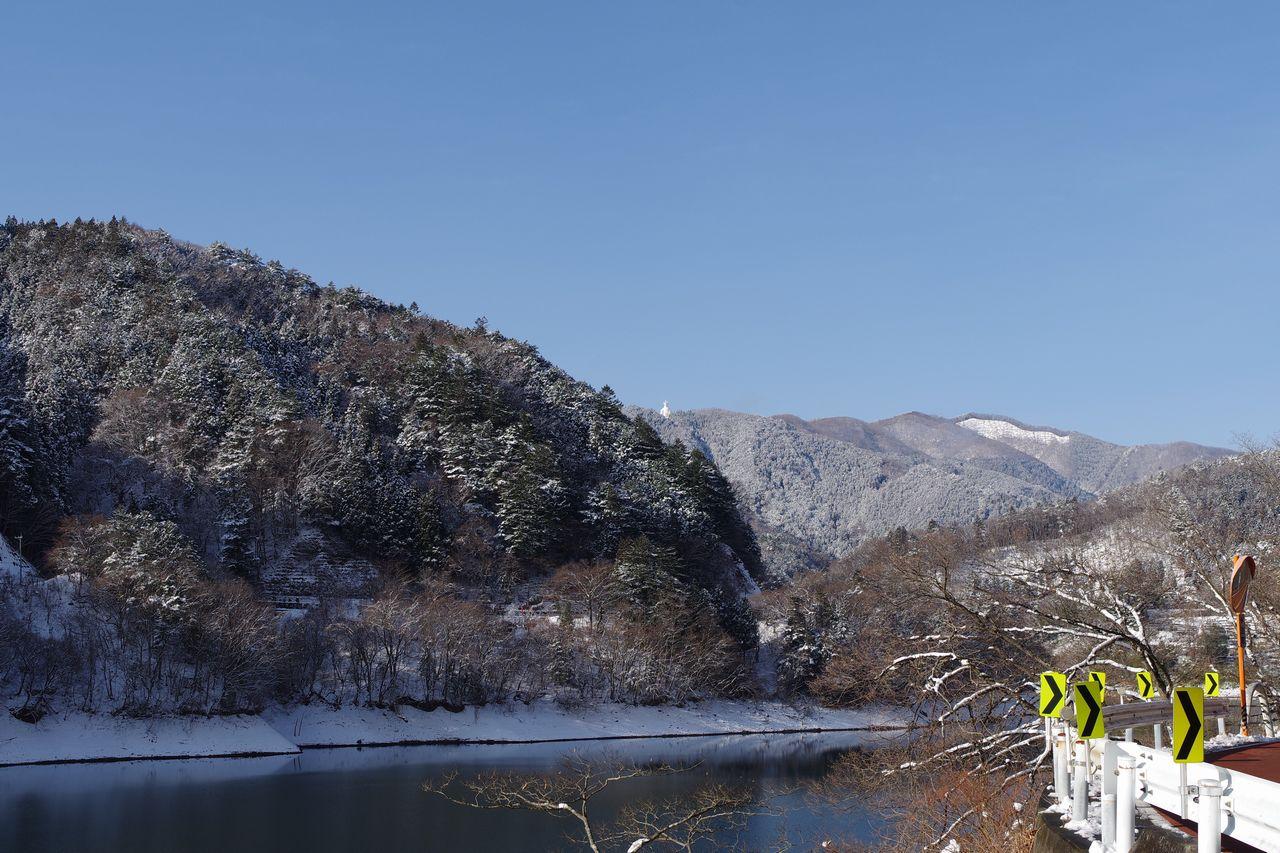 小河内神社バス停