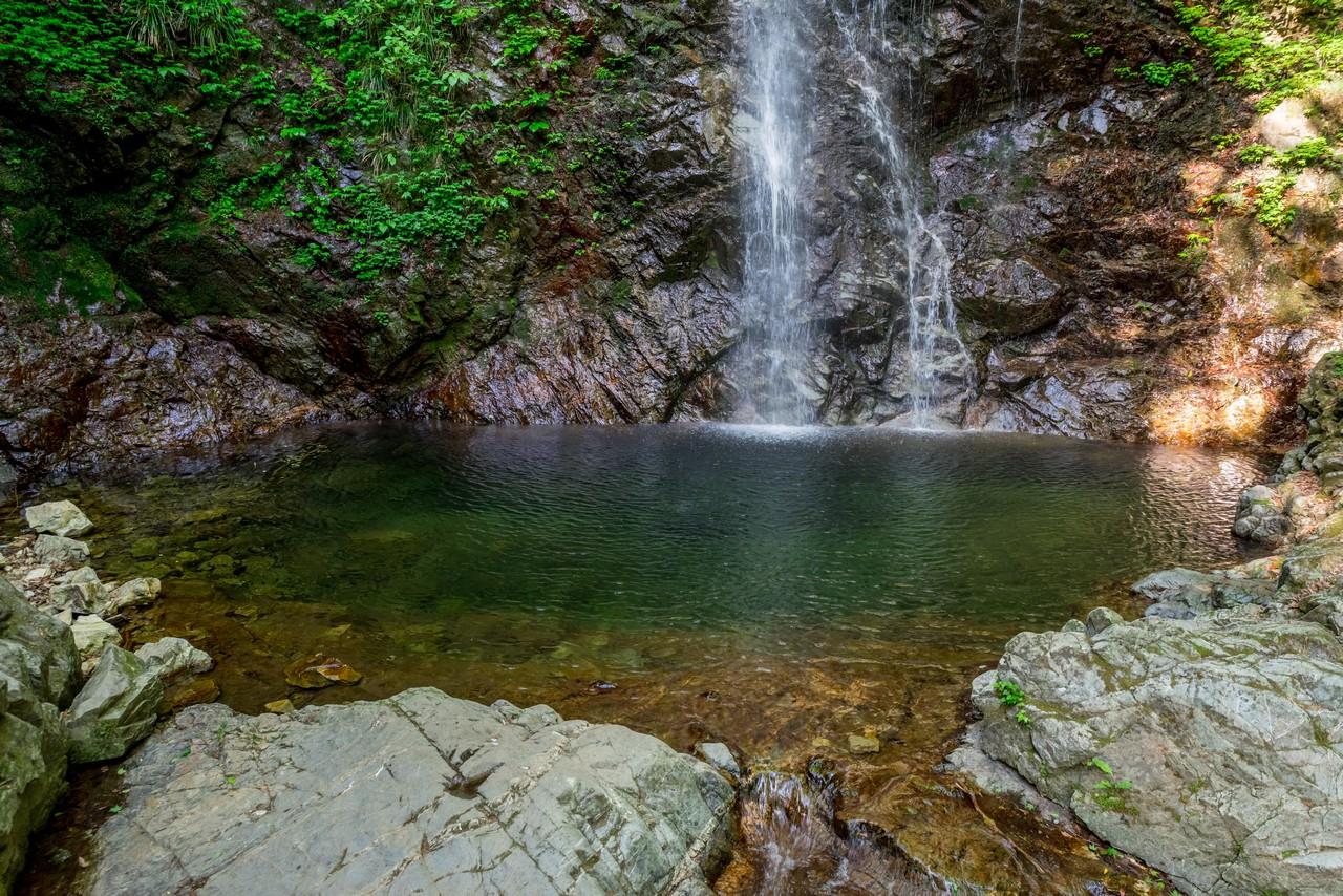 檜原村 払沢の滝の滝壺