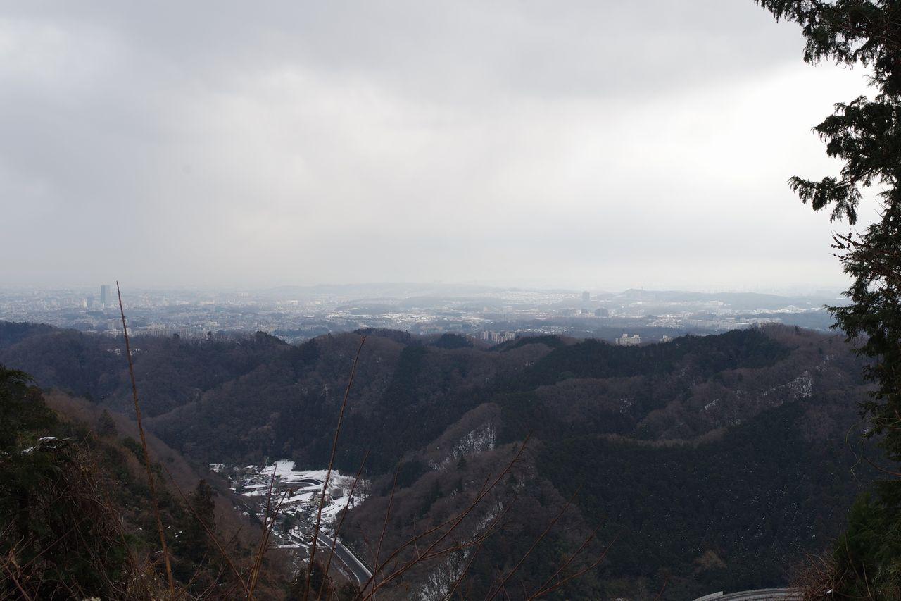 高尾山 稲荷山からの風景