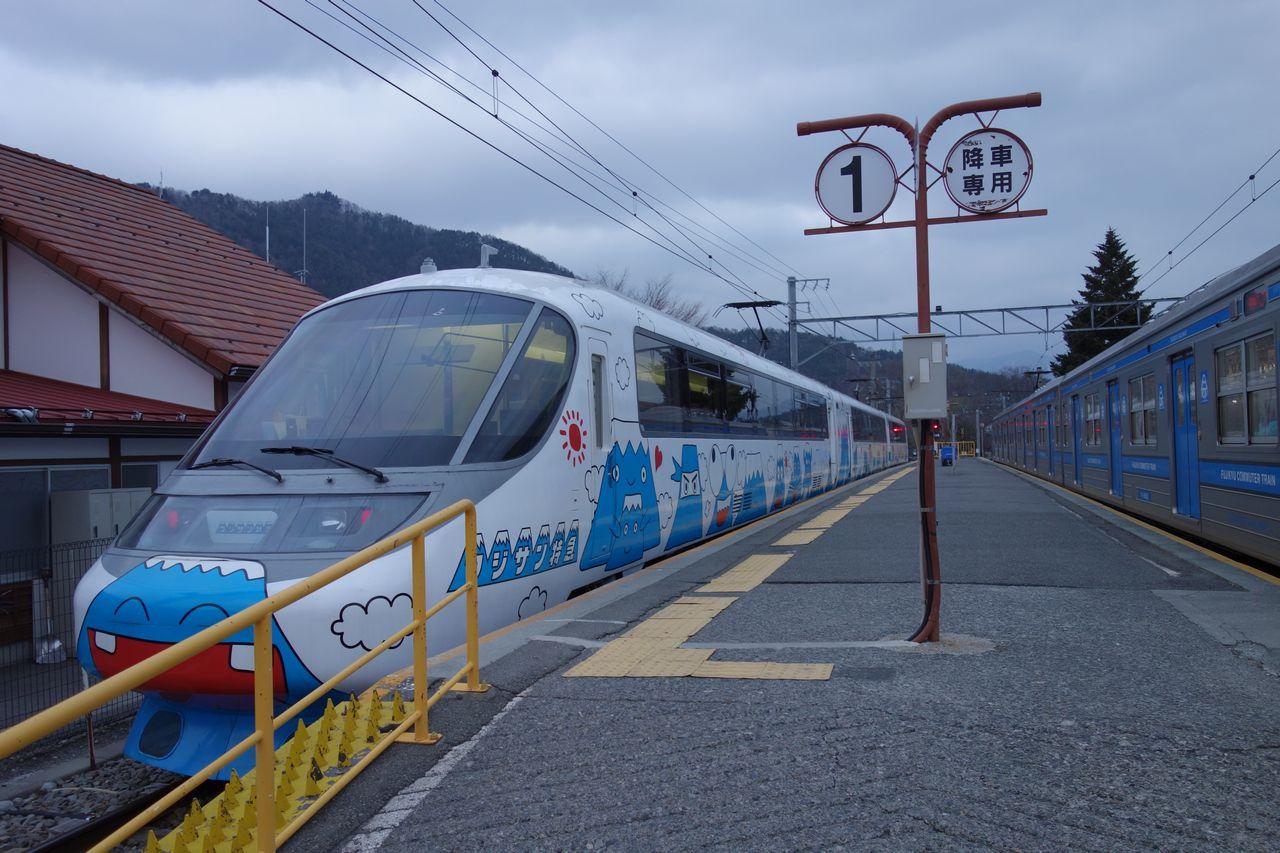 富士急線 フジサン特急