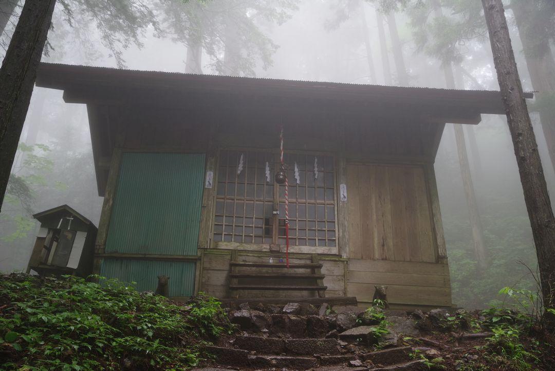 大岳山 大岳神社