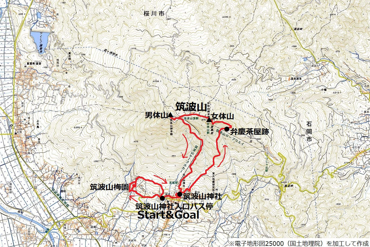180311筑波山_map