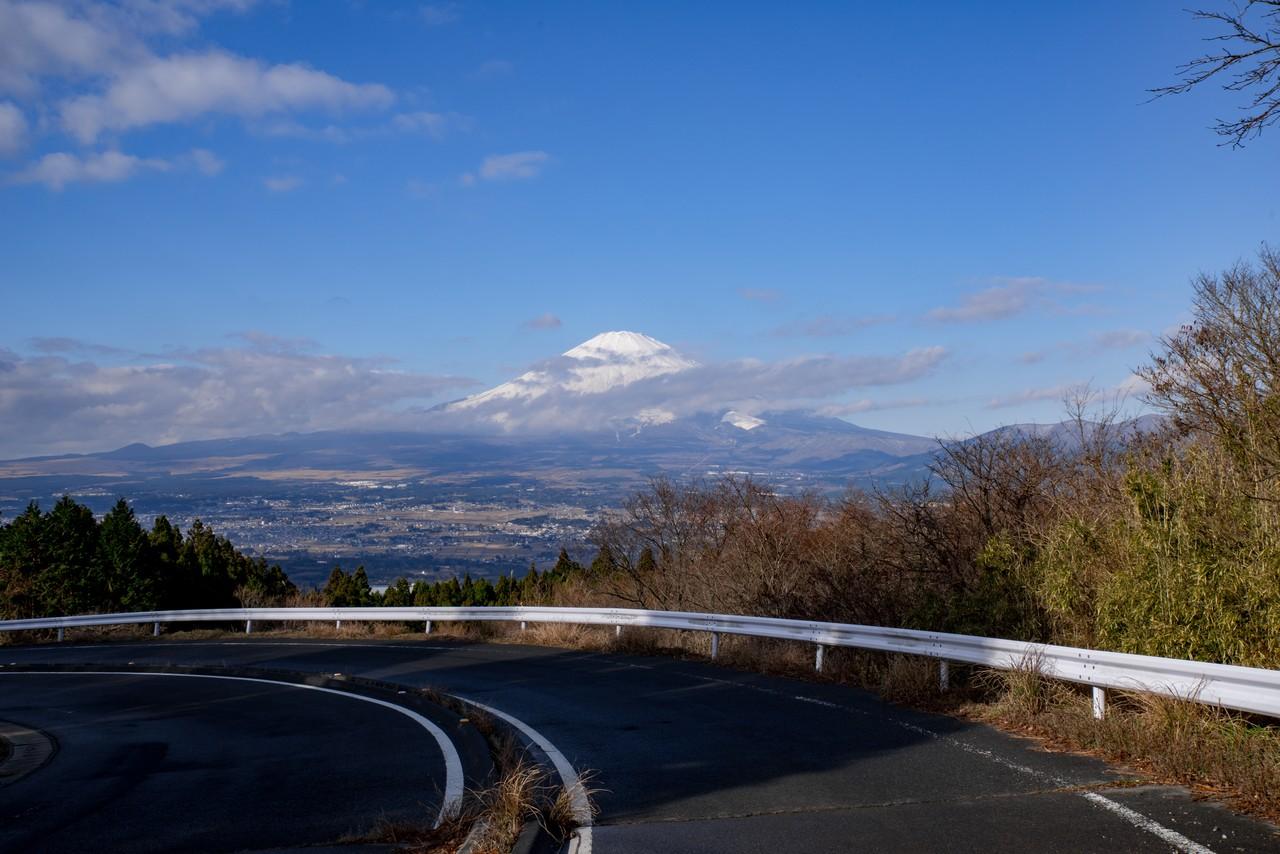 金太郎ラインから見た富士山