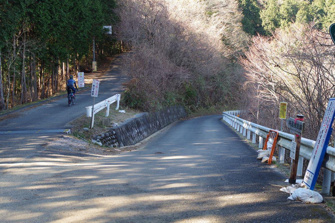 関八州見晴台からの下山路