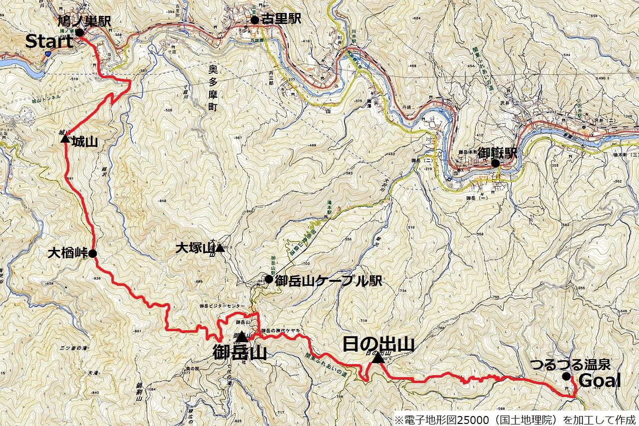 171105御岳山_map